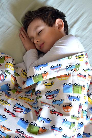 gyerek Moka es Zen sulyozott takaro