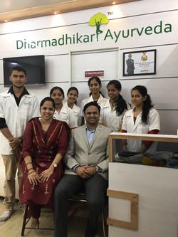 Dharmadhikari Ayurveda team