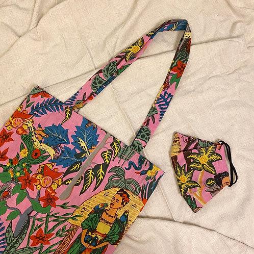 Tote Bag + Mask Set