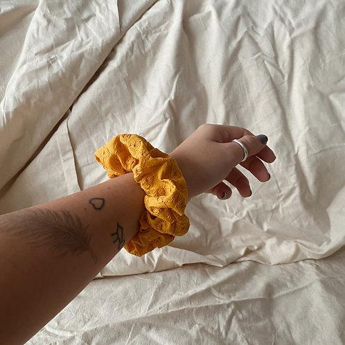 Sweetheart in Mustard Scrunchie
