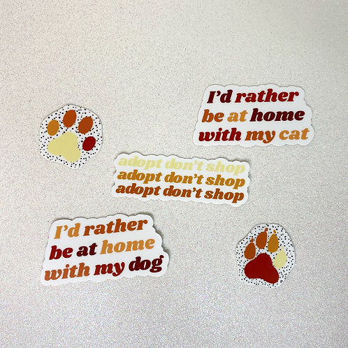 Adopt Sticker Pack