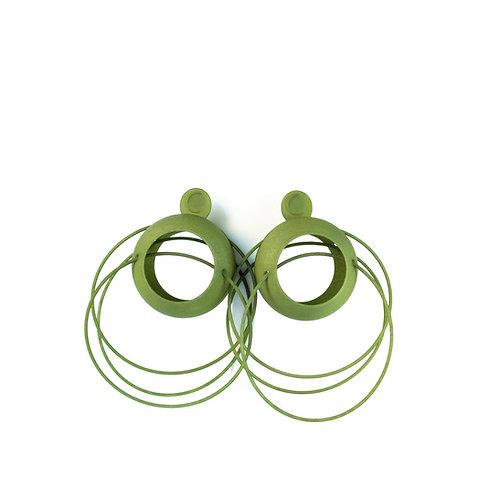 LOLITA HOOP earrings - NOBAHAR DESIGN