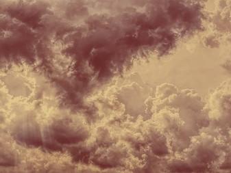 Herabstürzende Himmel