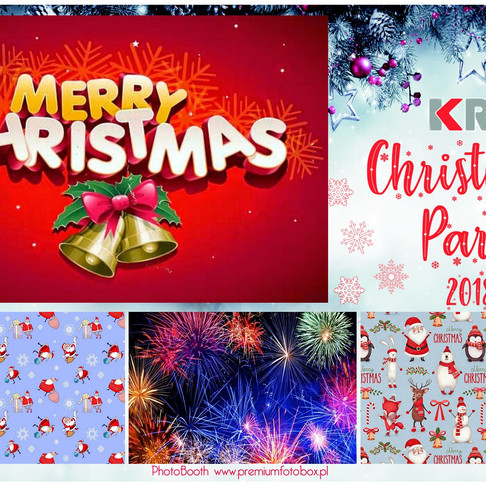 KRM Christmas Party with Photo Booth.