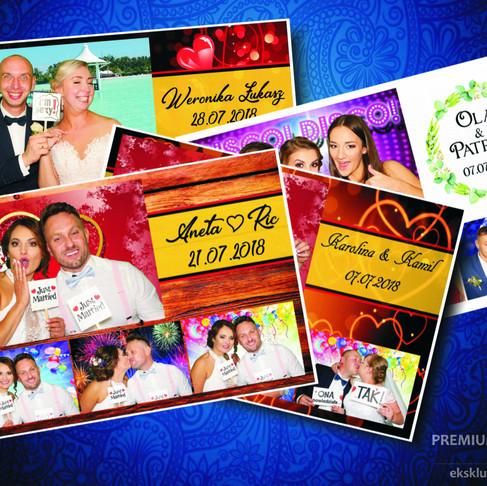Personalizacja zdjęć z fotobudki.