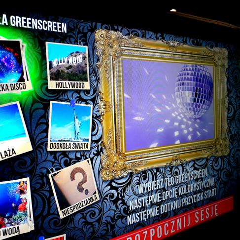 Zdjęcia z fotobudki - Green Screen.