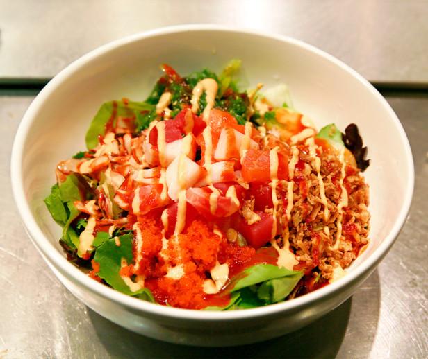 Spicy Sashimi Bowl