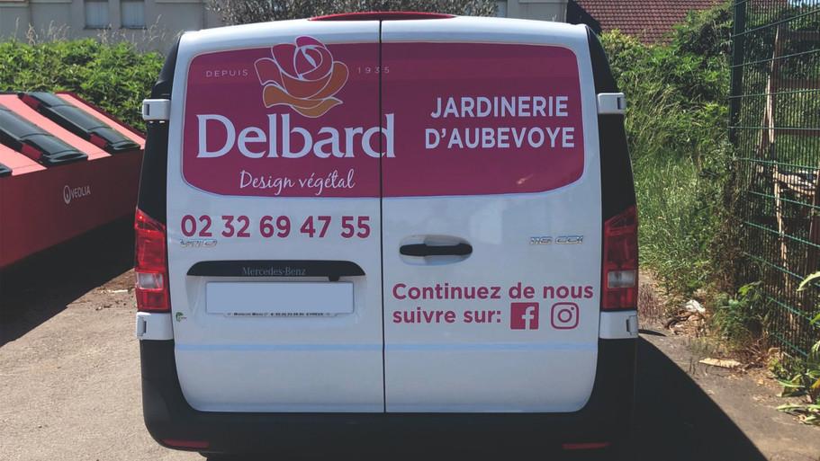 Marquage véhicule Delbard