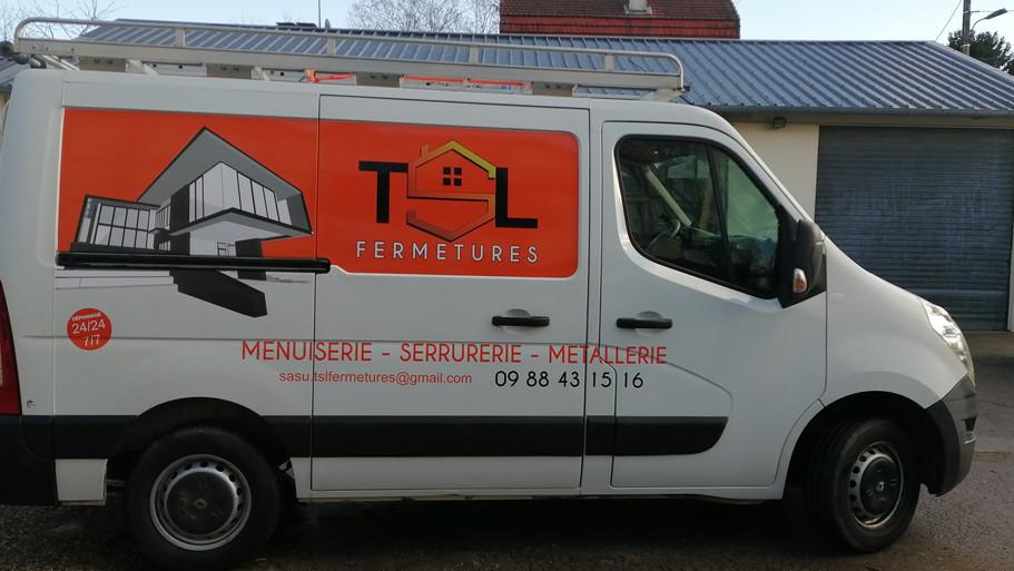 TLS Fermeture Marquage véhicule