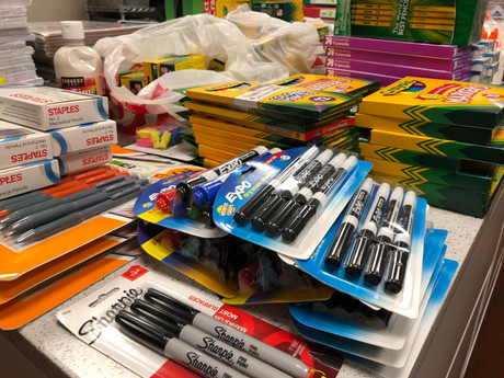 School Supply Drive Success!