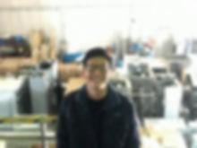 丸菱マシナリー企画室のメンテナンススタッフ
