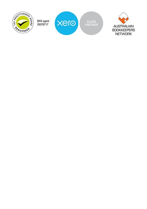 Bas Agent, ABN and Xero Logos long recta