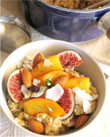 Quinoa and Chia Porridge