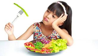 children V.S vegetables
