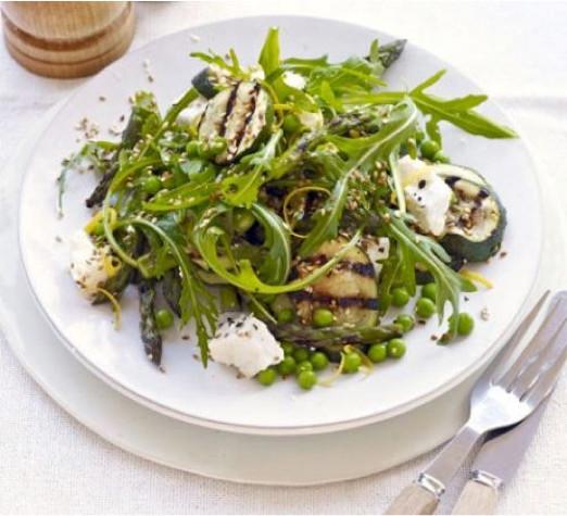 asparagus courgette