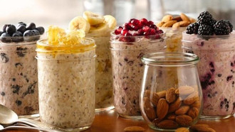 Easy, Healthy & Delicious Overnight Oats