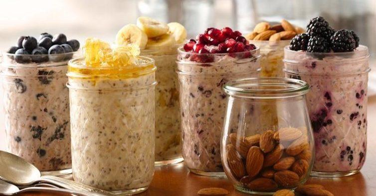 Overnight oats variety