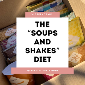 """In defence of the """"soups and shakes"""" diet"""
