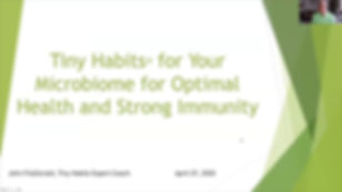 Your Microbiome- Key to Your Optimal Hea