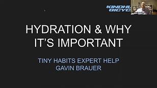 HYDRATION & WHY IT MATTERS_Gavin Brauer.