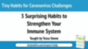3 Tiny Habits to Strengthen Your Immune