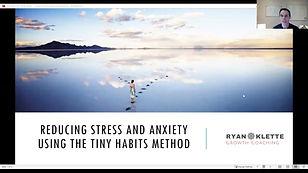 Tiny Habits to Reduce Stress and Anxiety