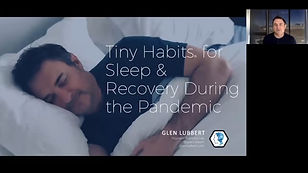 Tiny Habits for Sleep & Recovery During