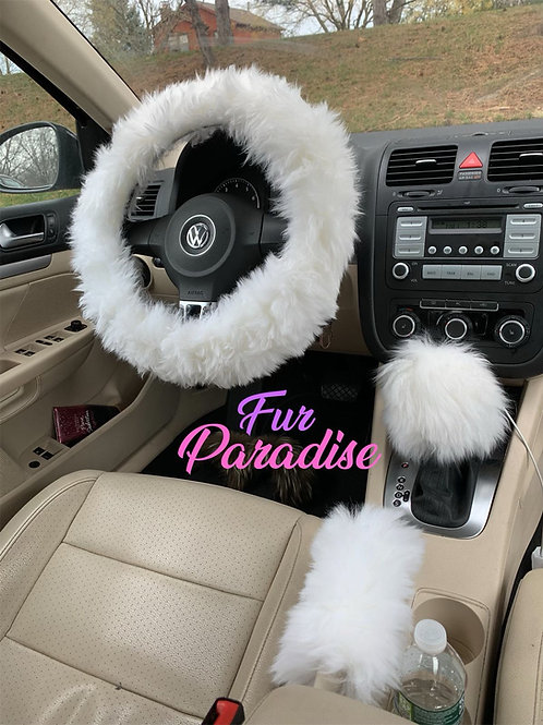 Driving Pretty Steering Wheel Cover + 2 FREE GIFTS