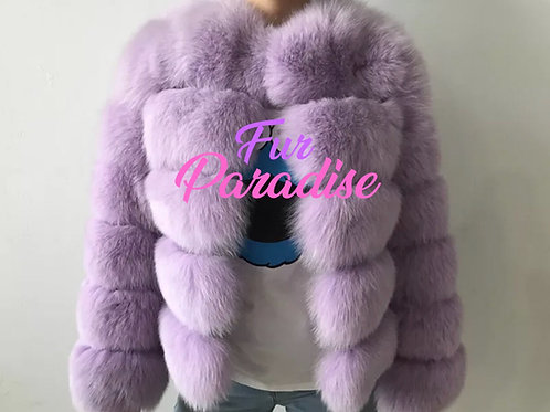 Hollywood Bomber Fur Coat