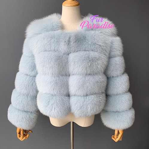 Hollywood Bomber Fur Coat