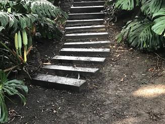 Tarawera Terrace stairs after