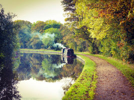 Along the towpath