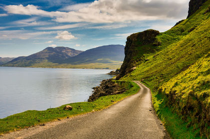 The road by the loch