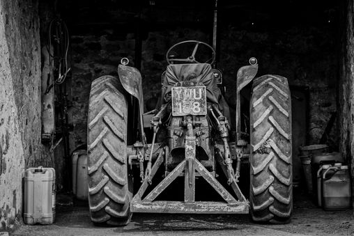 The old tractor shed