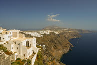 The cliffes at Fira