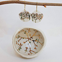 ceramic jewellery holder from erificio