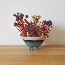 ceramic vase in stoneware