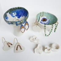 ceramic jewellery holders