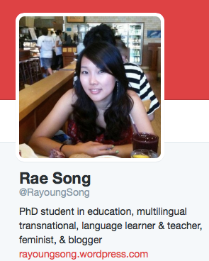 Concluding interview with Rae Song on our Special Writing Series