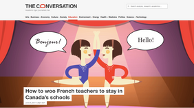 How to woo French teachers to stay in Canada's schools