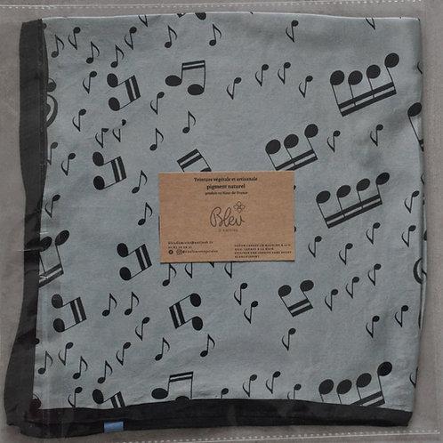 Petit carré de soie - Musical -