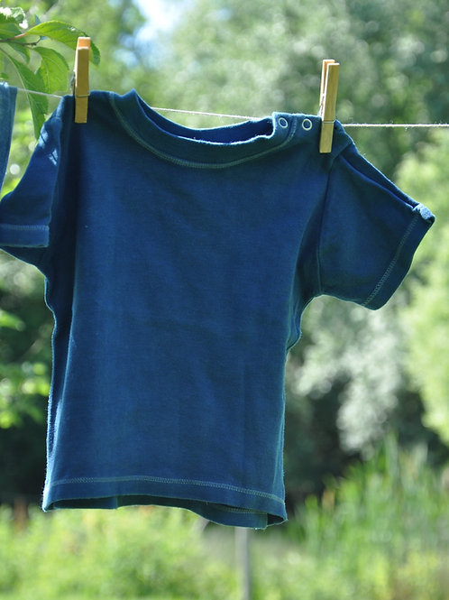 T-shirt coton bio 6-12 mois