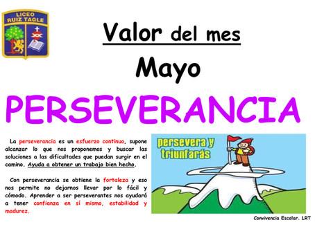 VALOR MES DE MAYO
