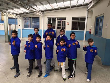 Participación en karate