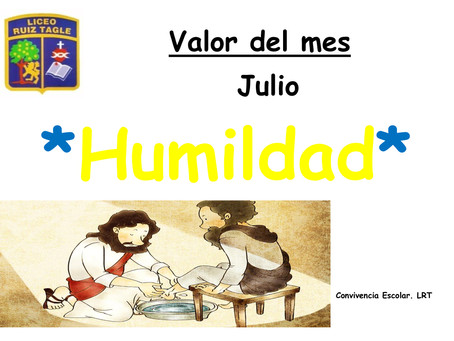 VALOR DEL MES JULIO