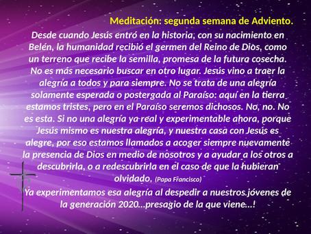MEDITACIÓN LUNES 8