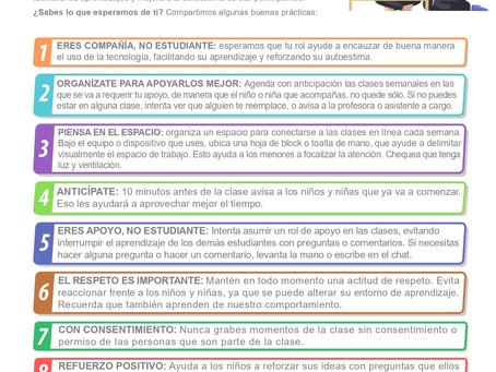 DECÁLOGO DE BUENAS PRÁCTICAS ESCOLARES