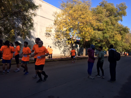 Participación en 8va CorridaUsach 2017