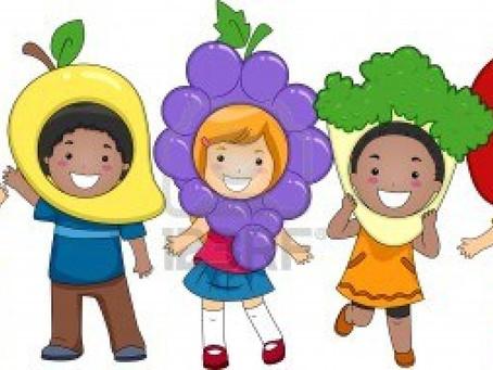 Consejos para una sana alimentación de los niños y niñas