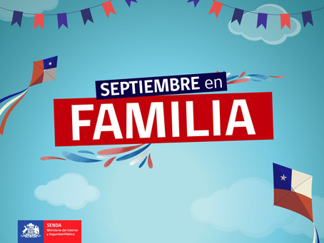 """""""¡Vivamos un Septiembre en Familia!"""